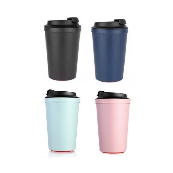 DWMU102 – Artiart Idea Cafe 340 ml BPA Free Suction Mug