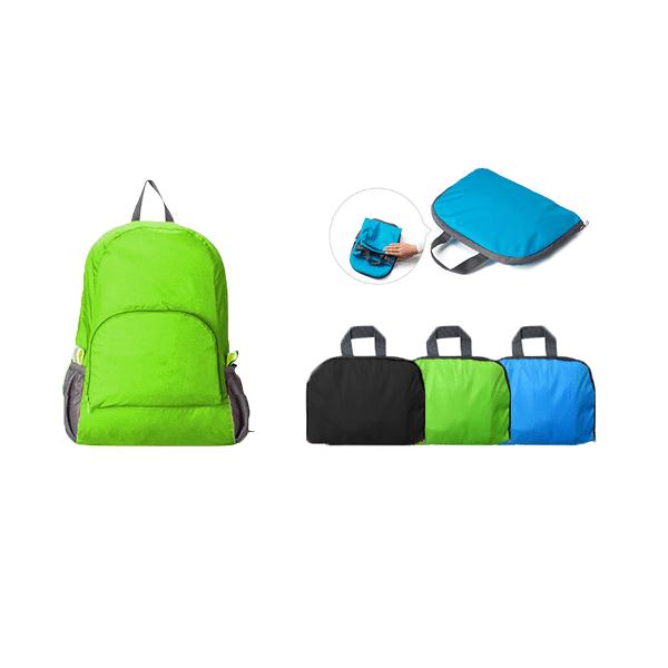 BGBP097 – Ribstop Nylon Foldable Backpack